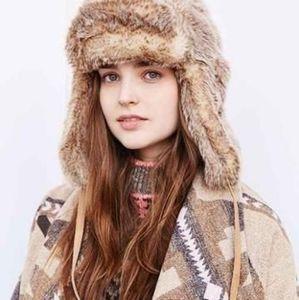 H&M Fur Trapper Hat